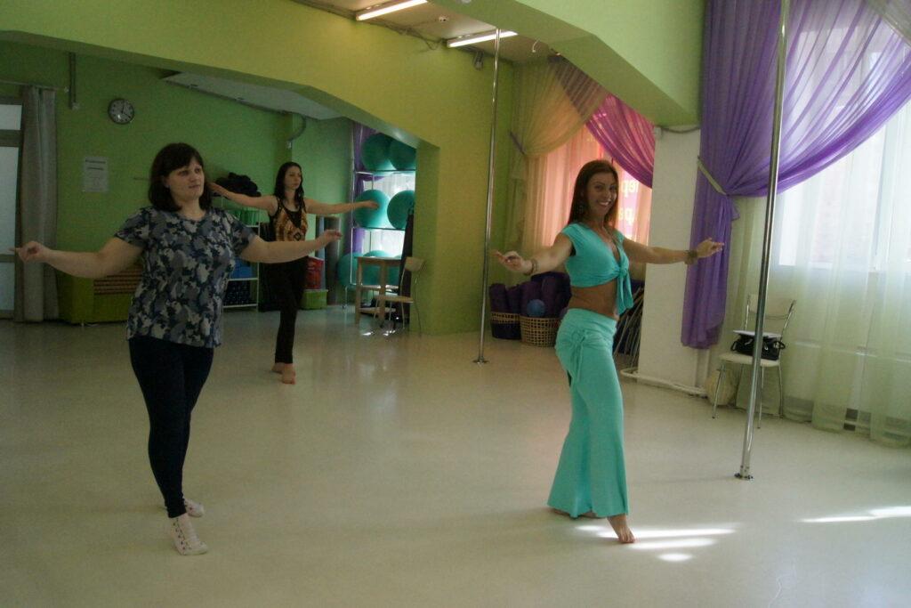 Танец живота на Ленинском